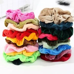 Accessories - 10 Velvet Random Colored Scrunchies